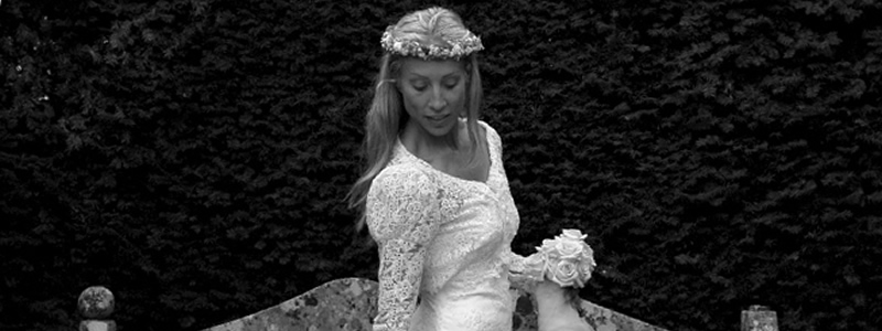 Bride at Chippenham wedding